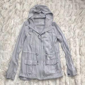 Lightweight gray jacket